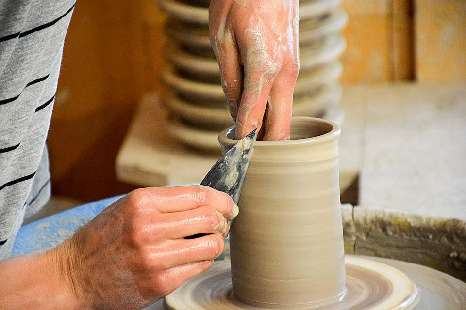 How pottery is made