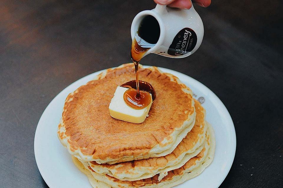 Great pancake breakfast options in Gatlinburg.