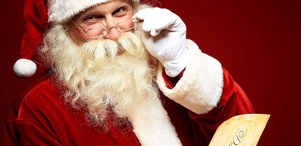 Santa Claus reunion in Gatlinburg, Tennessee.