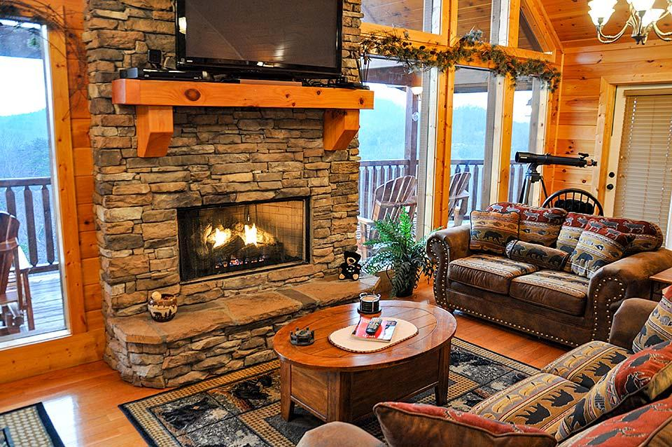 Celebrate the new year in a cabin.