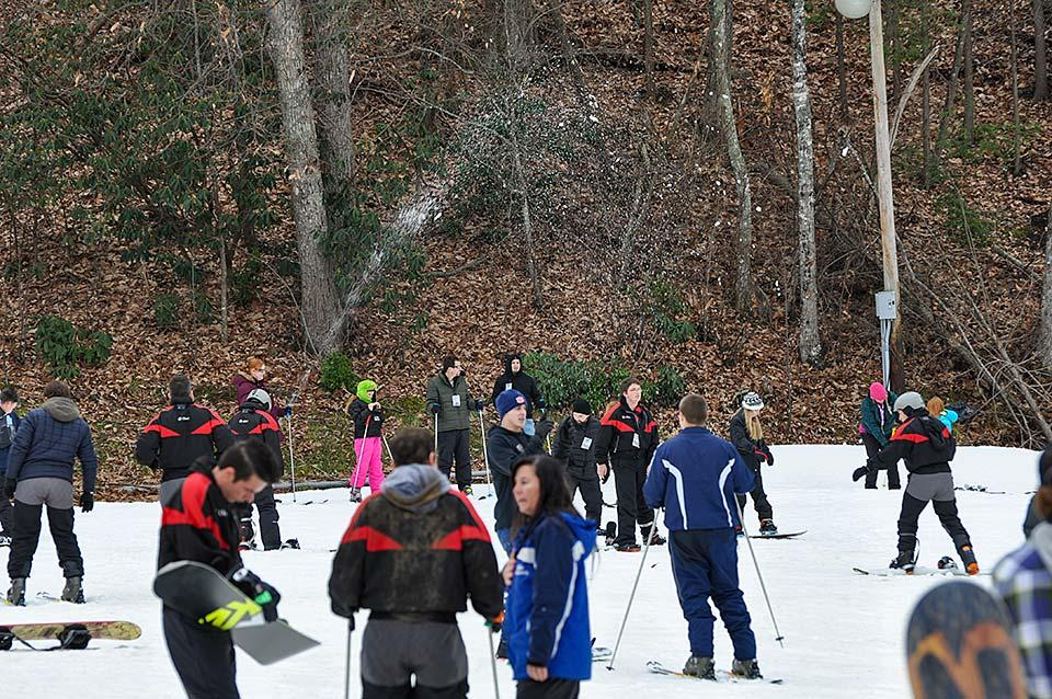 Ski School at Ober