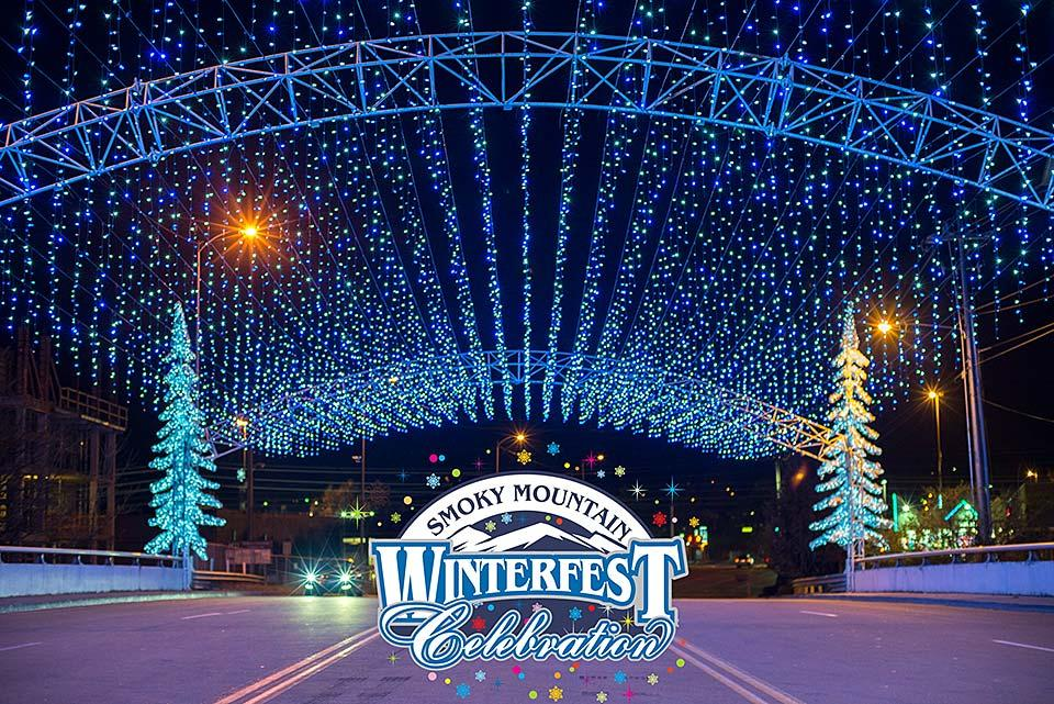 Winterfest lights this winter season.