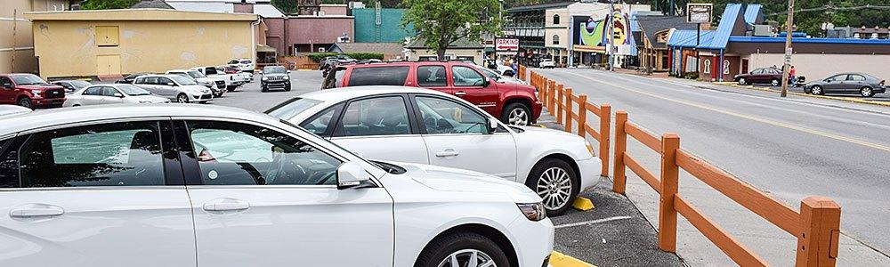 Contact Parking in Gatlinburg