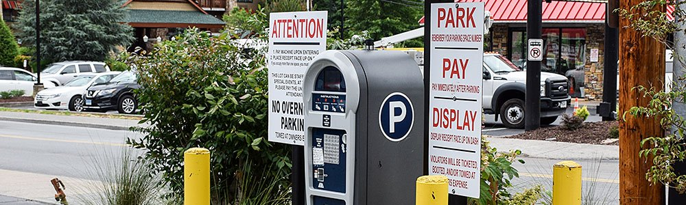 Parking costs for the Galinburg area