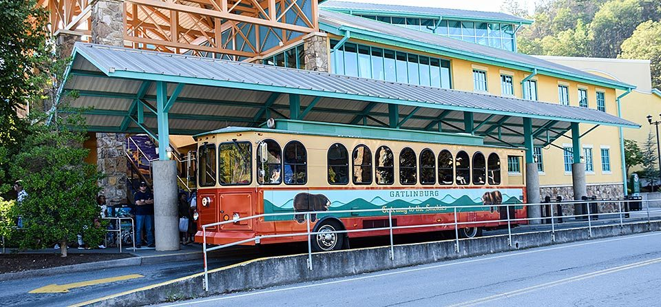 All Trolleys stop at Ripley's Aquarium